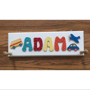 Other - EUC 2-peg hook for child's room.